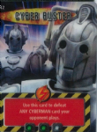 CYBER BUSTER #342  Doctor Who ANNIHILATOR   Battles In Time  Ultra Rare  UR3D Card-  10607